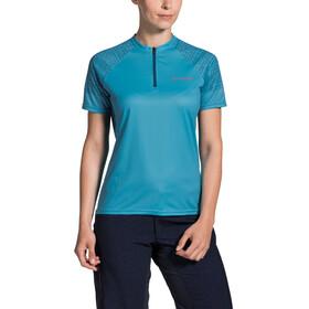 VAUDE Ligure Shirt Women crystal blue